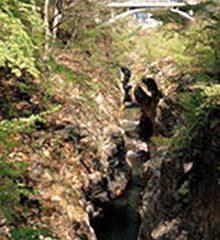 南牧村 三段の滝